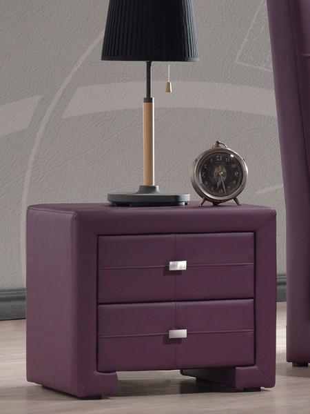 Прикроватная тумба Барселона фиолетовая