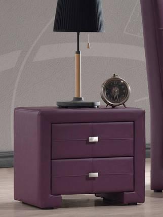 Прикроватная тумба Барселона фиолетовая, фото 2