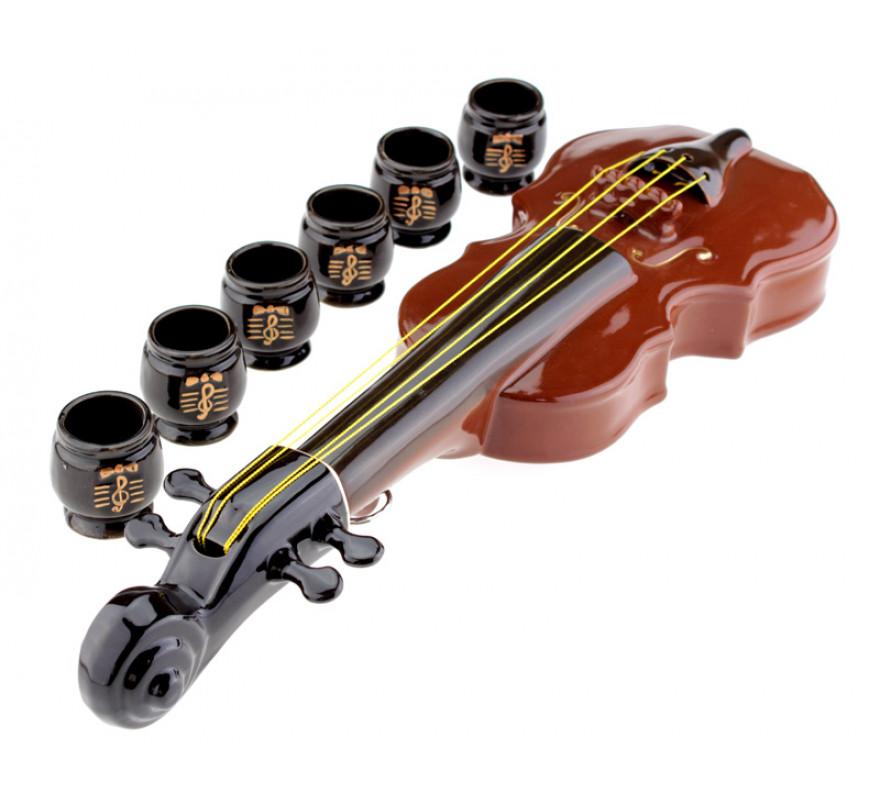 Подарочный набор скрипка штоф 1,65 л