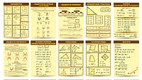 Комплект плакатов Для кабинета математики (10 шт).