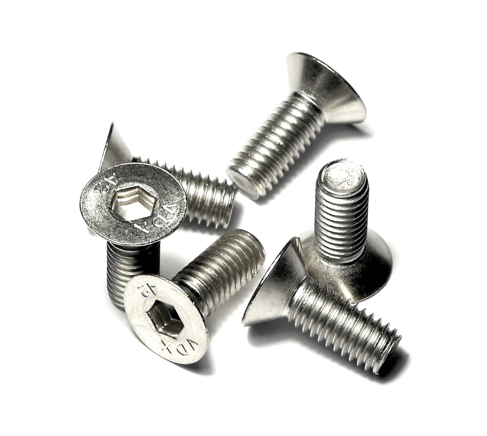 Гвинти М6х16 неіржавіюча сталь A2-070 6шт в комплекті