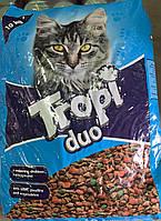 Корм для котів з яловичиною, птицею, овочами Tropi Duo 10 кг