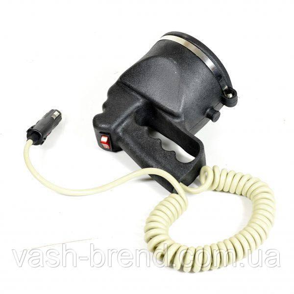 Прожектор-ксенон на прищепке с ручкой - корпус черный 3600 lm точечный