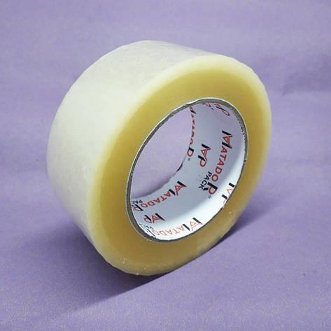 Скотч упаковочныйМatador — 40 мкм, длинна — 200 м, ширина — 45 мм, упаковка — 6 шт, фото 2
