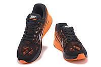 Мужские кроссовки Nike Lunarglide 7 black-orange