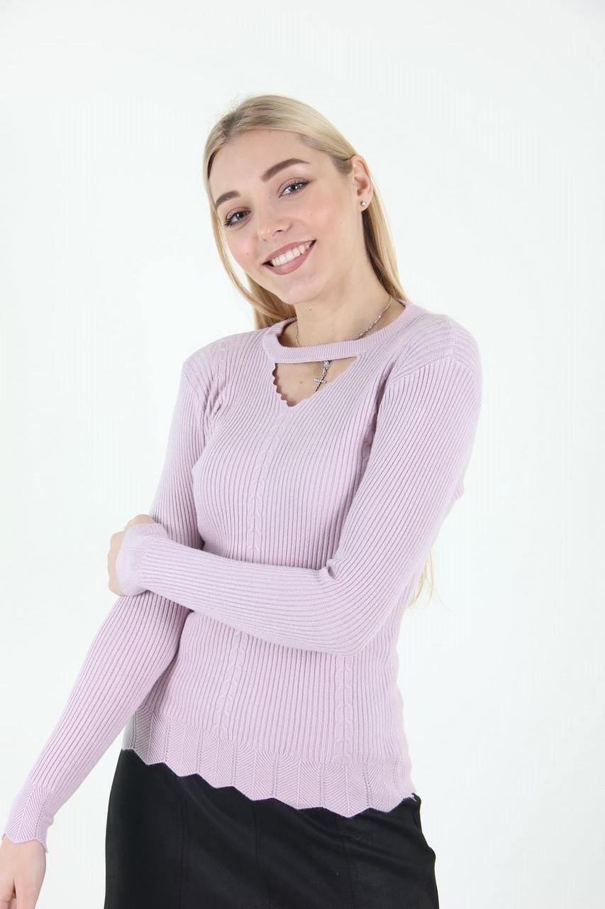 Гольф женский LadiesFashion 223-1 (Нежно-розовый S/M)