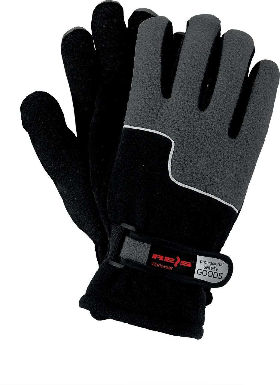 Зимние рабочие перчатки RPOLTRIP BC защитные, утепленные, изготовленные из флиса reis размер 10