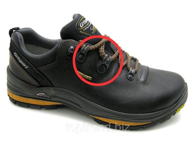 Мужские кожаные нескользящие ботинки Grisport зимние