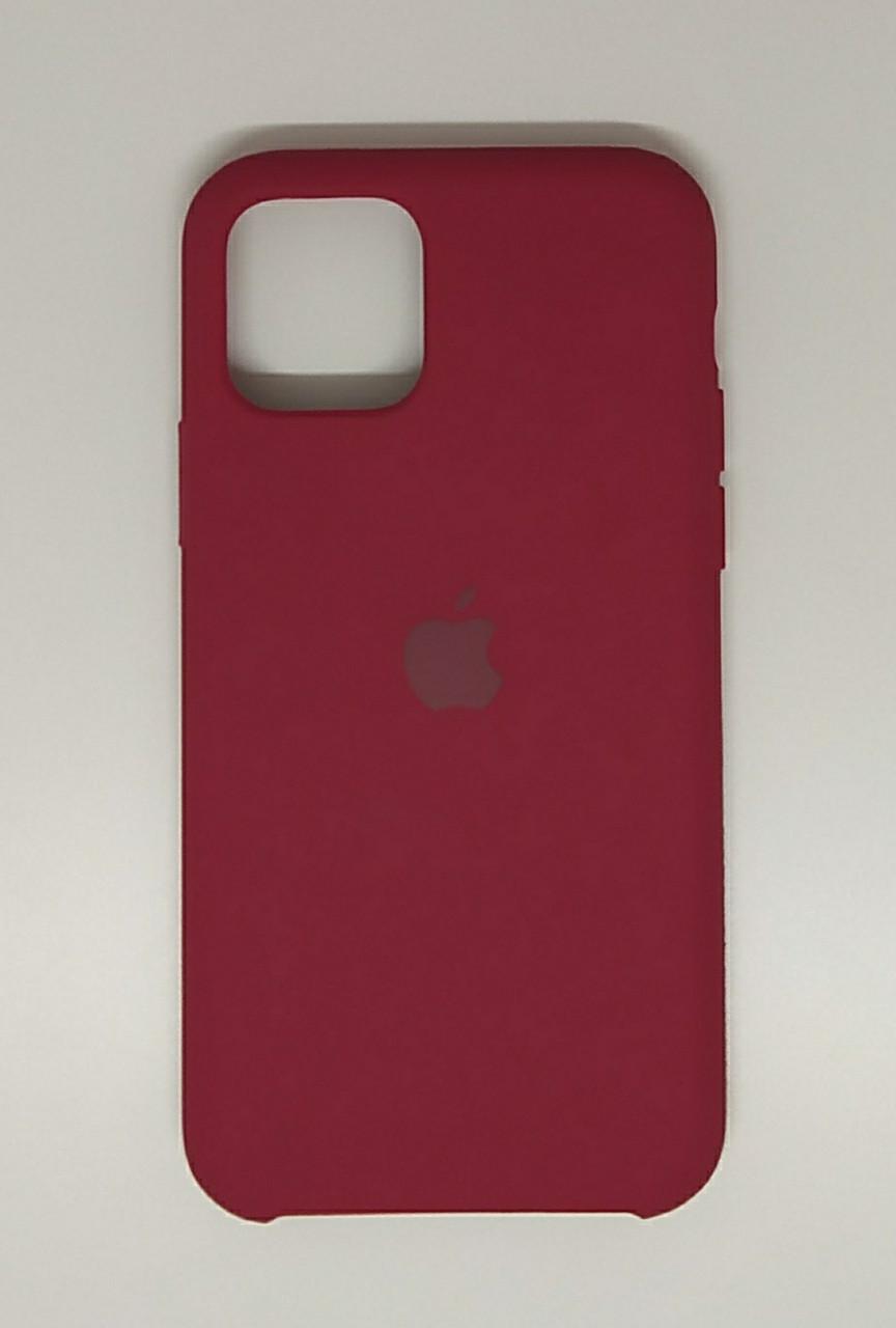 """Чехол Silicon iPhone 11 Pro - """"Темно-розовый №36"""""""