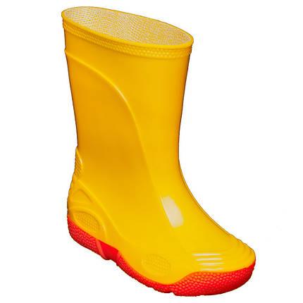 Резиновые сапоги OLDCOM Vivid желтые, фото 2