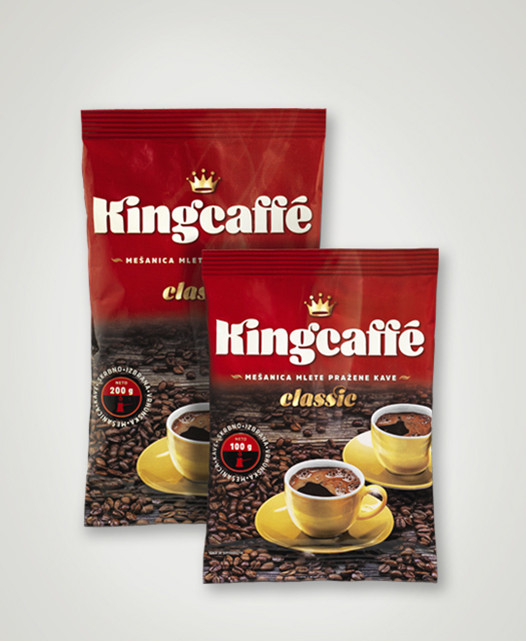 Молотый кофе Kingcaffe classic 200гр