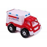 Машинка Скорая помощь Технок в сетке - 219298