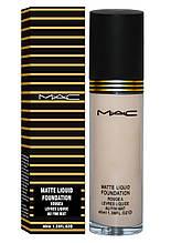 Тональный крем MAC Matte Liquid Foundation Rougea Levres Liquide Au Fini Mat, 40 мл