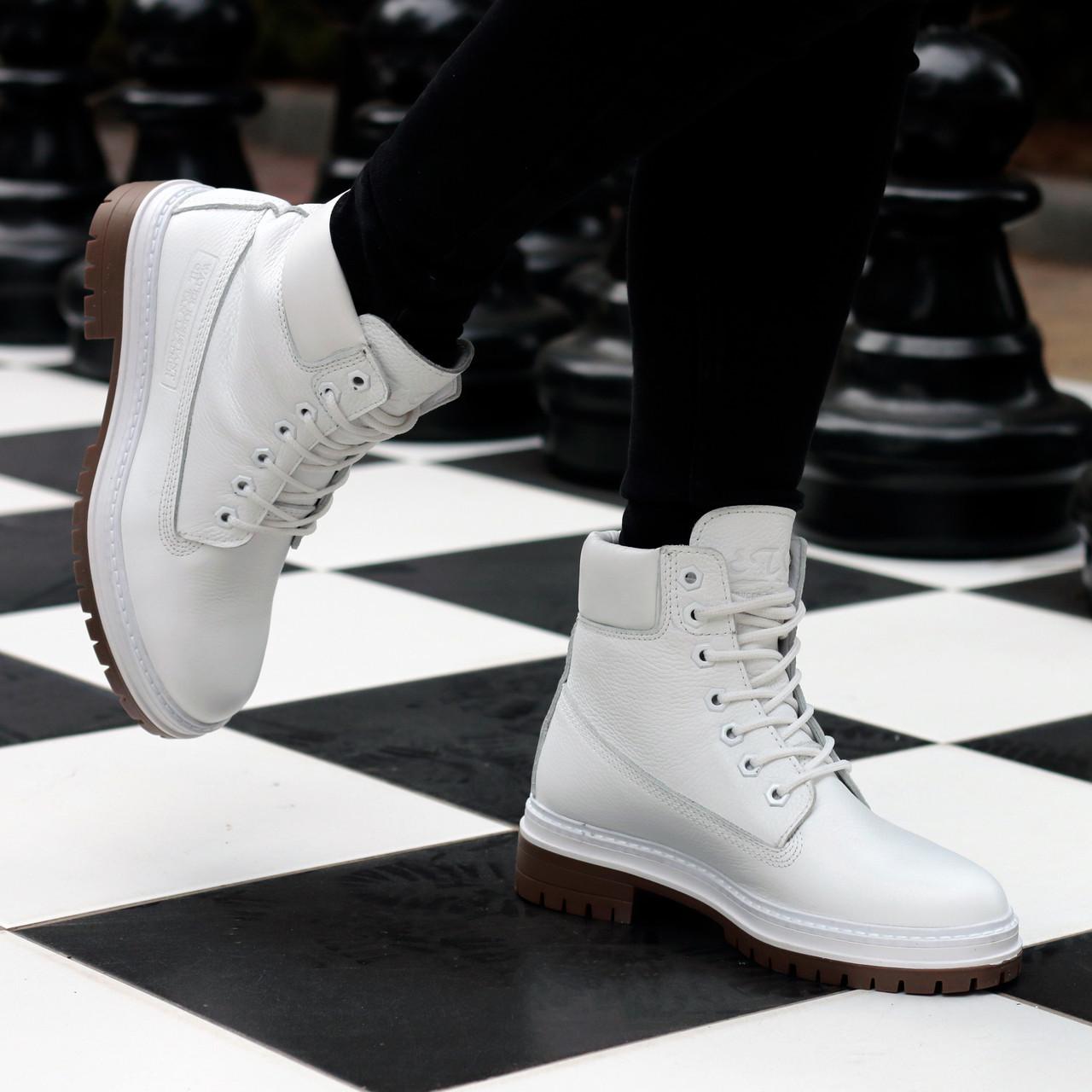 Ботинки Etor 2852-5551 37 белые
