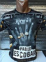 Мужская футболка 3д Пабло Эскобар Турция оптом