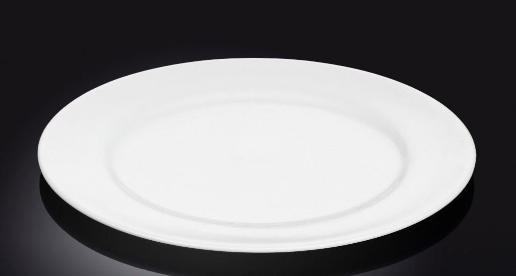 Тарелка фарфоровая десертная Wilmax круглая (18 см)