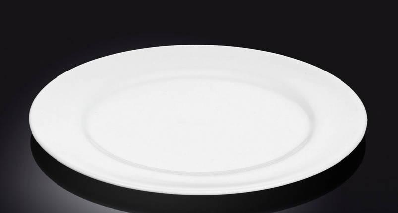 Тарелка фарфоровая десертная Wilmax круглая (18 см), фото 2