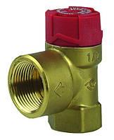 """Клапан Afriso MS, 2 бара, Rp 1/2"""" х Rp 3/4"""" предохранительный для отопительных систем (Афризо 42375)"""