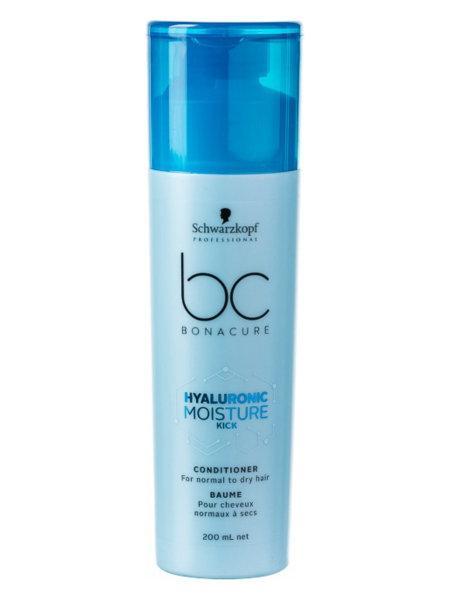 Увлажняющий Кондиционер для сухих волос  Schwarzkopf Professional Bonacure Hyaluronic Moisture Kick, 200 мл