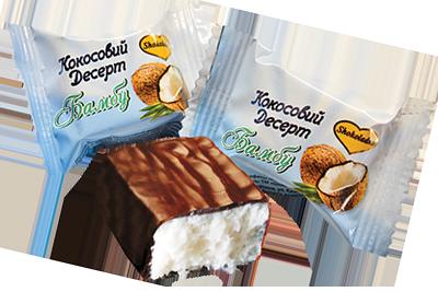 """ТМ Shokoladno """"Кокосовый десерт""""  500 грамм"""