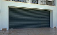 DoorHan RHS117/08 — Рулонные ворота с внутривальным электроприводом из сплошного стального профиля, фото 1