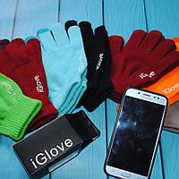 Перчатки для сенсорного телефона  оптом универсальный размер