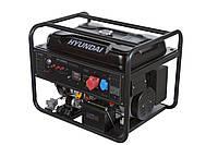 Бензиновый генератор 9 кВт Hyundai HY 12500LE-3 (Бесплатная доставка по Украине)