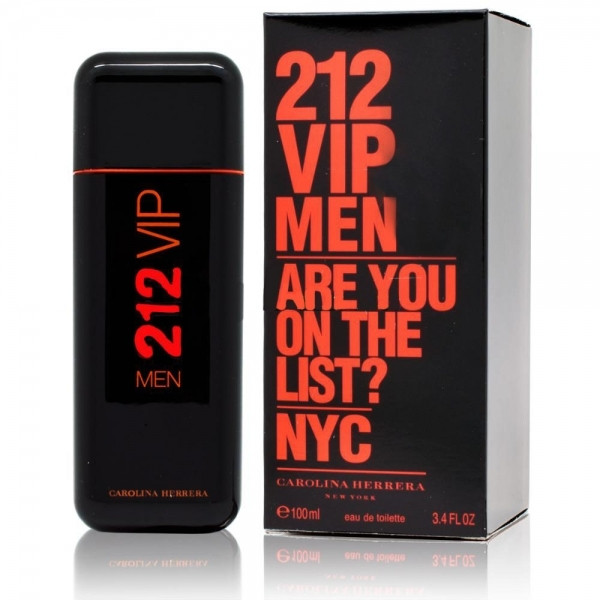 Туалетная вода мужская CAROLINA HERRERA 212 VIP Men Are You on the List Black 100 мл