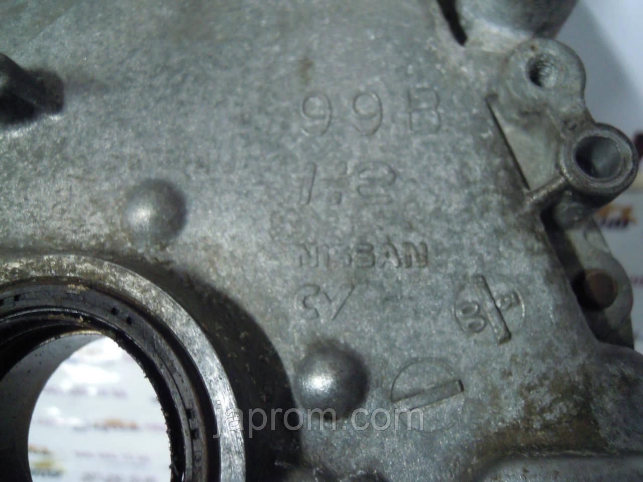 Масляный насос (Крышка) Nissan Micra K11 1992-2002г.в. 1.0 1.3 бензин