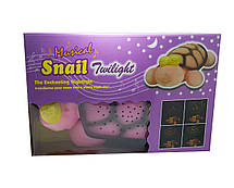 Ночник - проектор черепаха с глазами Snail Twilight Розовая, фото 3