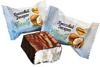 """ТМ Shokoladno """"Кокосовый десерт""""  300 грамм"""