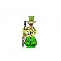 Кальян Huka 17 см Зеленый DN23924, КОД: 718084