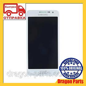 Дисплей Samsung A300 Galaxy A3 с сенсором Серебряный Silver оригинал , GH97-16747C