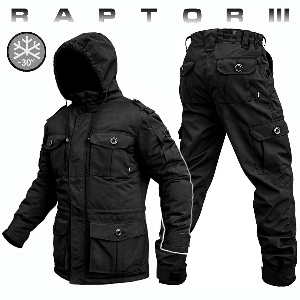 "Костюм зимний ВВЗ ""RAPTOR-III"" BLACK (ВИДЕО)"