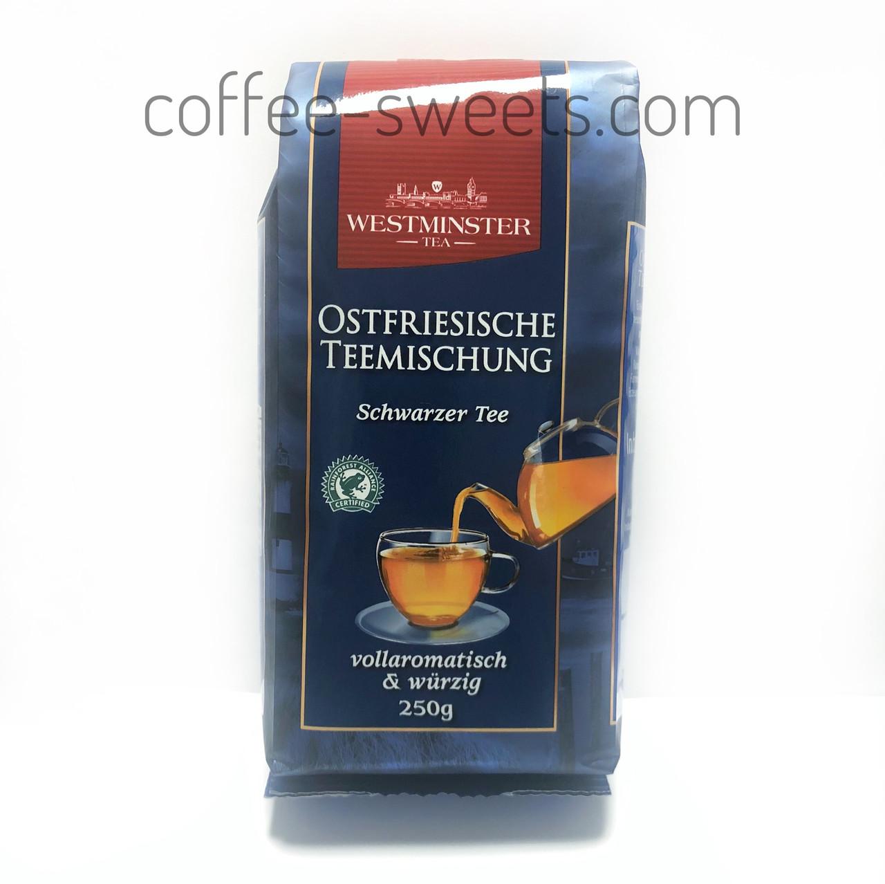 Чай чёрный Westminster Ostfriesische — листовой чай, 250 гр.