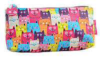 """Косметичка """"Yes"""" №531652 BT-11 Funny cats (21*8.5*5.5)"""