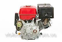 Двигун бензиновий Weima WM190FE-L (R) (HONDA GX420) (редуктор 1/2, шпонка, 16 л. с., електр, фото 3