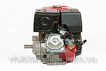 Двигатель бензиновый Weima WM190FE-L (R)  (HONDA GX420) (редуктор 1/2, шпонка, 16 л.с., электр, фото 2