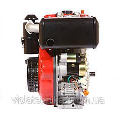 Двигатель дизельный Weima WM186FBES (R) 9.5л.с. (шпонка, 1800об./мин) + редуктор, фото 2