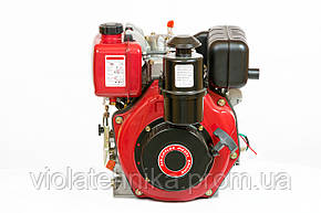 Двигатель дизельный Weima WM178FES (R) 6,0 л.с. (вал ШПОНКА, электростартер, 1800об/мин) + редуктор, фото 2