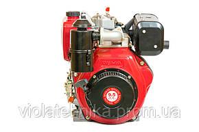 Двигатель дизельный Weima WM186FB (вал под шлицы, 9,5 л.с.), фото 2
