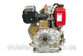 Двигун дизельний Weima WM186FB (вал під шпонку, 9,5 л. с.), фото 2
