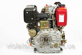 Двигатель дизельный Weima WM186FBE (вал под шпонку) 9.5 л.с., эл.старт., фото 3