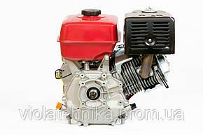 Двигун бензиновий Weima WM177F-T (вал 25 мм, шліци, для WM1100 , 9 л. с.), фото 2