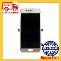 Дисплей Samsung A320 Galaxy A3 с сенсором Золотой Gold оригинал , GH97-19732B