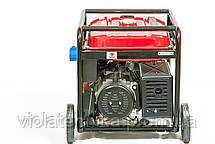 Генератор бензиновый WEIMA WM7000E (7 кВт, 1 фаза, электростартер), фото 2