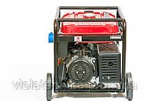 Генератор бензиновый WEIMA WM7000E-3 (7 кВт, 3 фазы, электростартер), фото 3