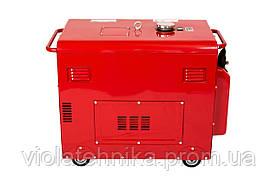 Генератор дизельный WEIMA WM5000CL-1 SILENT (5 кВт, 1 фаза, шумоизоляция), фото 2