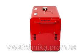 Генератор дизельный WEIMA WM5000CL-1 SILENT (5 кВт, 1 фаза, шумоизоляция), фото 3