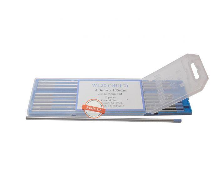 Вольфрамовий електрод WL-20 4.0 мм, 1 шт.